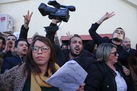 Barred from covering unrest, Algerian journalists hold own protests