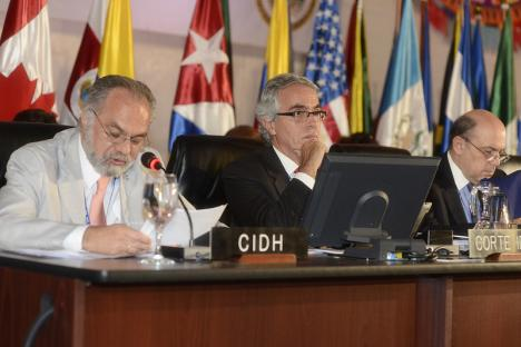 The Chair of the Inter-American Commission on Human Rights and the President of the Inter-American Court of Human Rights