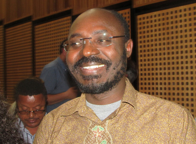 Angolan journalist and human rights advocate, Rafael Marques de Morais, during a visit to Johannesburg, South Africa in 2014