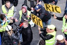 French police and protesters attack the media in Yellow Vest protests