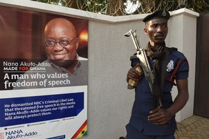 Ghana police suspend officers who attacked journalists