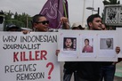 Indonesian president grants remission to a journalist's murderer