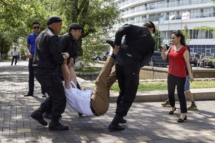 Video: Mass arrests carried out to pre-empt protest in Kazakhstan