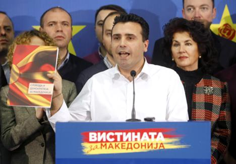 Zoran Zaev has accused the conservative government of carrying out illegal wiretaps on more than 20,000 people, including his own, and accused conservative Prime Minister Nikola Gruevski of heading the alleged surveillance operation