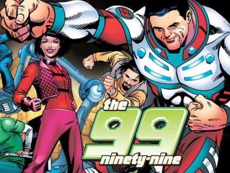 The groundbreaking comic THE 99 has sought to give the Muslim community its own superheroes