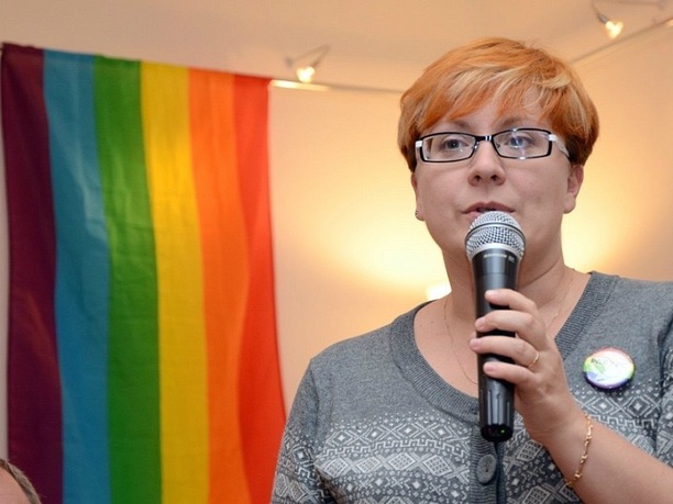 Tatiana Vinnichenko, a teacher, is chairperson of the Russian LGBTQ Network