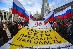 Rights groups urge Putin not to sign Russia's
