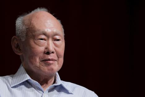 Singapore's founding father and long-serving Prime Minister Lee Kuan Yew, who died in March
